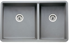 Blanco 441130 Precis 1-3/4 16 in Undermount Kitchen Sink - Metallic Gray