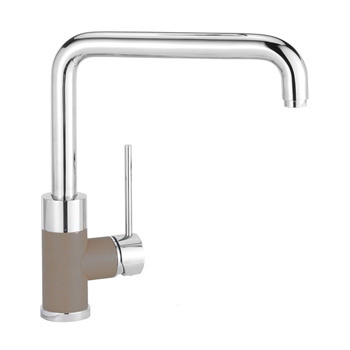 Blanco 441329 Purus I Single Handle Kitchen Faucet - Truffle / Chrome