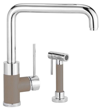 Blanco 441330 Purus I Kitchen Faucet with Side Spray - Truffle