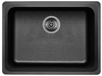 Blanco 441367 Vision Single Bowl Silgranit II Kitchen Sink - Anthracite