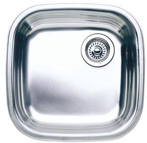 Blanco 509-338 Blancoselect Undermount Kitchen Sink - Stainless Steel