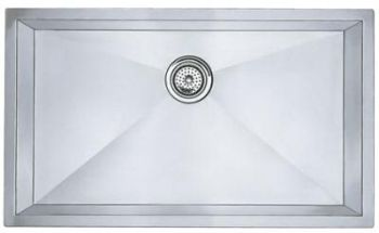 Blanco 512747 Blancoprecision Undermount Kitchen Sink - Stainless Steel