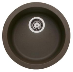 Blanco 515803 Rondo Single Bowl Secondary Sink - Cafe Brown