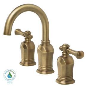 Pegasus 67389-8024H Verdanza Widespread Lavatory Faucet - Antique Brass