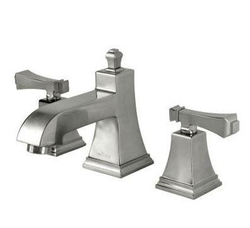 Pegasus 67390-8004 Exhibit Widespread Low-Arc Bathroom Faucet - Brushed Nickel