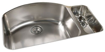 American Standard 7504.000.075 Culinaire Collection Undercounter Mount Kitchen Sink - Stainless Steel