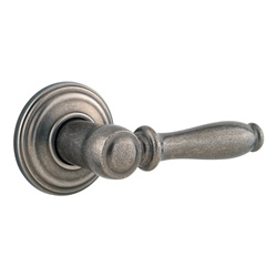 Kwikset 788ADL-502 Ashfield Inactive / Dummy Lever - Rustic Pewter