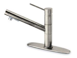 Pegasus 78PW568LFE Elba Pull-Out Kitchen Faucet - Brushed Nickel