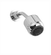 Jado 826/082/150 New Haven Showerhead with Shower Arm & Flange - Platinum Nickel