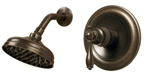 Pegasus 875-9296H Estates Single Handle Shower Trim - Heritage Bronze