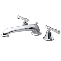 Pegasus 887-A035 Leeway Two Handle Roman Tub Faucet - Polished Nickel