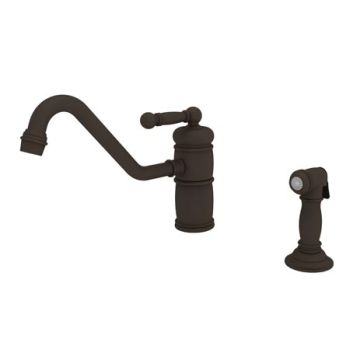 Newport Brass 941-10B Nadya Single Handle Kitchen Faucet with Side Spray - Oil Rubbed Bronze