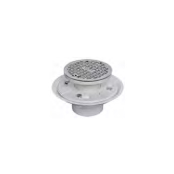 Ab Amp A 4433 2 Quot Abs Adjustable Floor Drain Stainless Steel