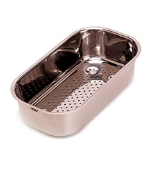 AR-70 Franke Artisan/Elements Small Colander - Polished Steel