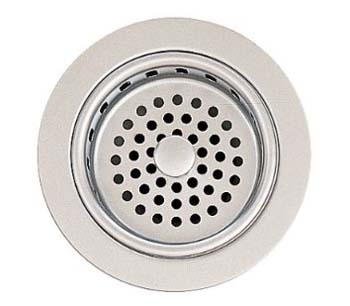 American Standard 4331.013.075 Brass Adjustable Sink Strainer Drain - Stainless Steel