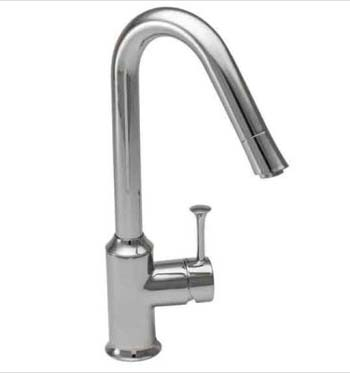 American Standard 4332.310.075 Pekoe Hi-Flow Pull-Down Kitchen Faucet - Stainless Steel