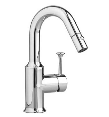 American Standard 4332.410.002 Pekoe Hi-Flow Pull-Down Bar Faucet - Chrome