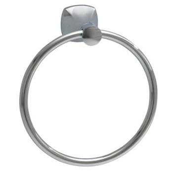 American Standard 7005.190.295 Copeland Towel Ring - Satin Nickel