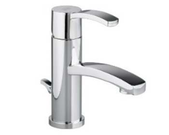 American Standard 7430.152.295 Berwick Single Control Vessel Lavatory Faucet - Satin Nickel (Pictured in Chrome)