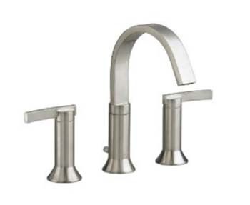 American Standard 7430.801.295 Berwick Double Lever Handle Widespread Faucet - Satin Nickel