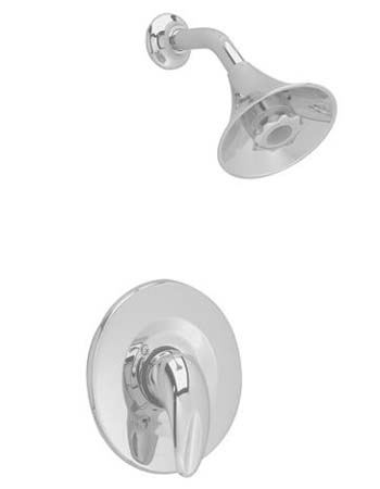 American Standard T385.507.295 Reliant 3 Shower Only Trim Kit With Flowise Water Saving Showerhead - Satin Nickel (Pictured in Chrome)