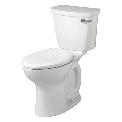 American Standard 215A.A105.020 Cadet Pro Two-Piece Elongated Toilet - White