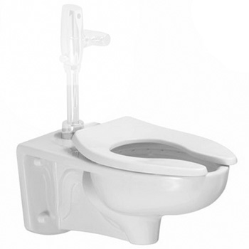 American Standard 2294011EC.020 Afwall ADA Retrofit Universal Bowl with EverClean - White