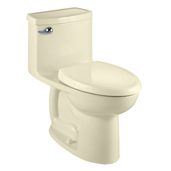 American Standard 2403.128.021 Compact Cadet 3 FloWise Elongated One-Piece Toilet - Bone