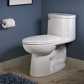 American Standard 2403.128.020 Compact Cadet 3 FloWise Elongated One-Piece Toilet - White