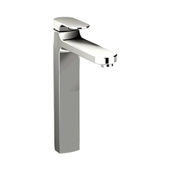 American Standard 2506.152.002 Moments Single Control Vessel Faucet with Grid Drain - Stainless Steel