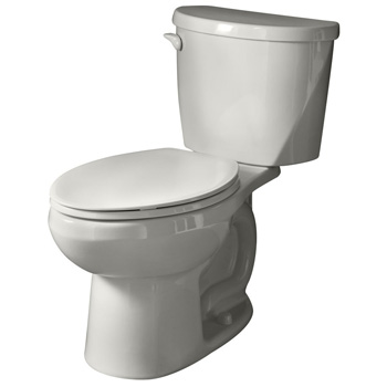 American Standard 2754.128.020 Evolution 2 Right Height Elongated Two-Piece Flowise 1.28 gpf Toilet - White