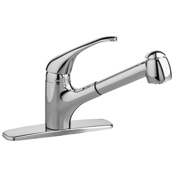 kitchen faucet gpm american standard 4205104f15 002 reliant 1 handle pull 13133
