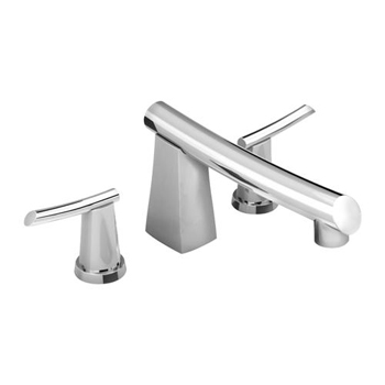 American Standard 7010.900.002 Green Tea Deck Mount Tub Filler - Polished Chrome