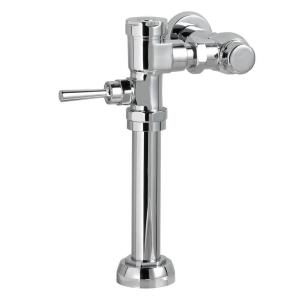 American Standard 7017.121 Manual 1.28 GPF 11.5 in. Rough-In Toilet Flush Valve - Polished Chrome