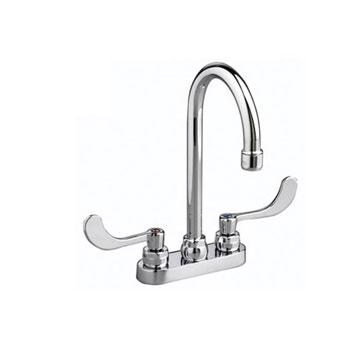 American Standard 7502.170.002 Monterrey Centerset Gooseneck Lavatory Faucet - Chrome