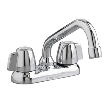 American Standard 7573.240.002 Two-Handle Laundry Faucet - Polished Chrome