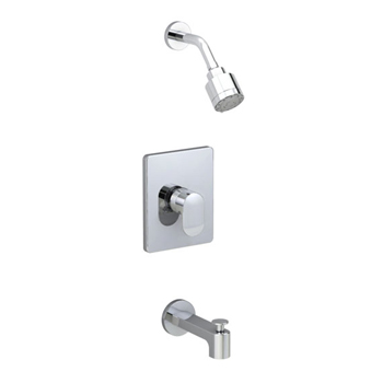 American Standard T506.502.002 Moments Bath and Shower Trim Kit - Polished Chrome