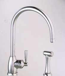 ATM400 Franke Faucets 400 Series Kitchen Faucet - Polished Chrome