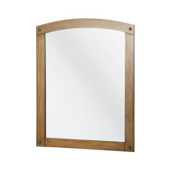 Foremost AVHM2430 Avondale 30-3/4 in. x 24-1/4 in. Wall Mirror - Weathered Pine