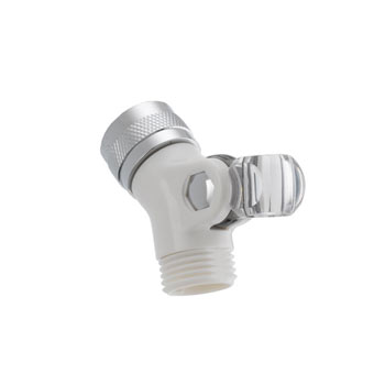 Alsons 4002-PK Pin Mount Swivel Connector - White