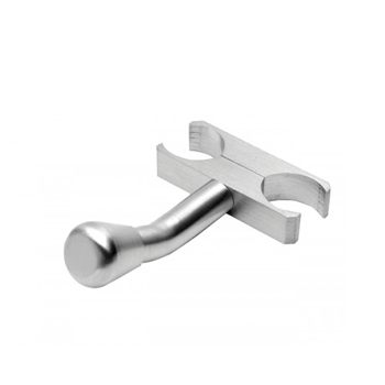 Amba AJ-BHP Jeeves Bathrobe Hanger - Polished