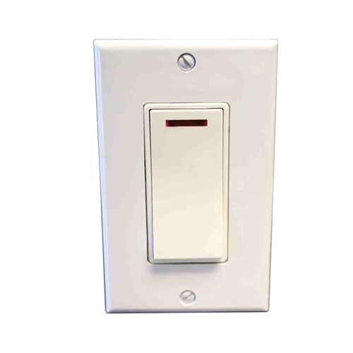 Amba ATW-S-A Pilot Light Switch - Almond