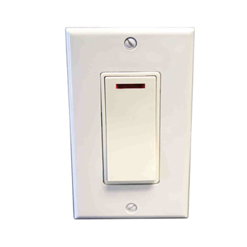 Amba ATW-S-W Pilot Light Switch - White