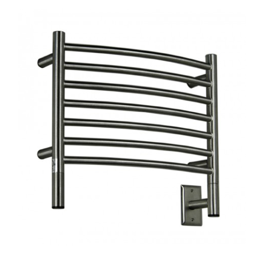 Amba HCB-20 Jeeves H Curved Towel Warmer - Brushed