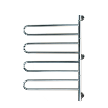 Amba J-B004P Swivel Jill B004 Towel Warmer - Polished