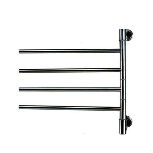 Amba J-D004B Swivel Jack D004 Towel Warmer - Brushed