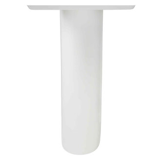 American Standard 0010.000 Pedestal Leg for Boulevard and Tropic Pedestal Sinks - White
