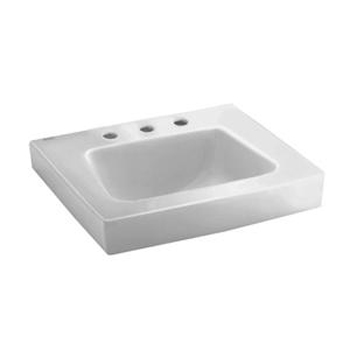 American Standard 0195.073.020 Roxalyn Wall-Mount Sink - White