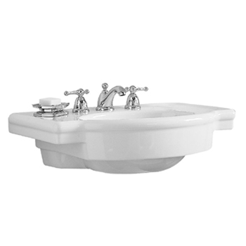 American Standard 0282.008.020 Retrospect Pedestal Basin with 8