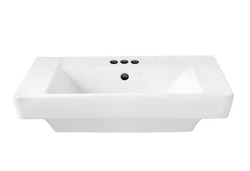 American Standard 0641.004.020 Boulevard Pedestal Basin with 4